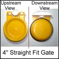 4 inch backwater valve - ML-SF446 4 inch Normally Closed Gate