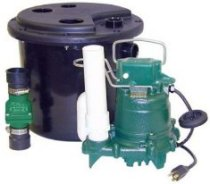 Zoeller M53 submersible sump pump kit 105-0001